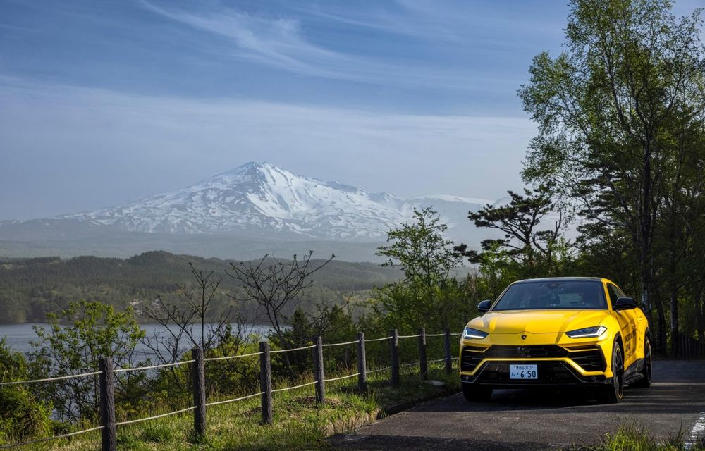 Lamborghini a traversat Japonia cu două Urus, pe un traseu de peste 6.500 de kilometri - Poza 22