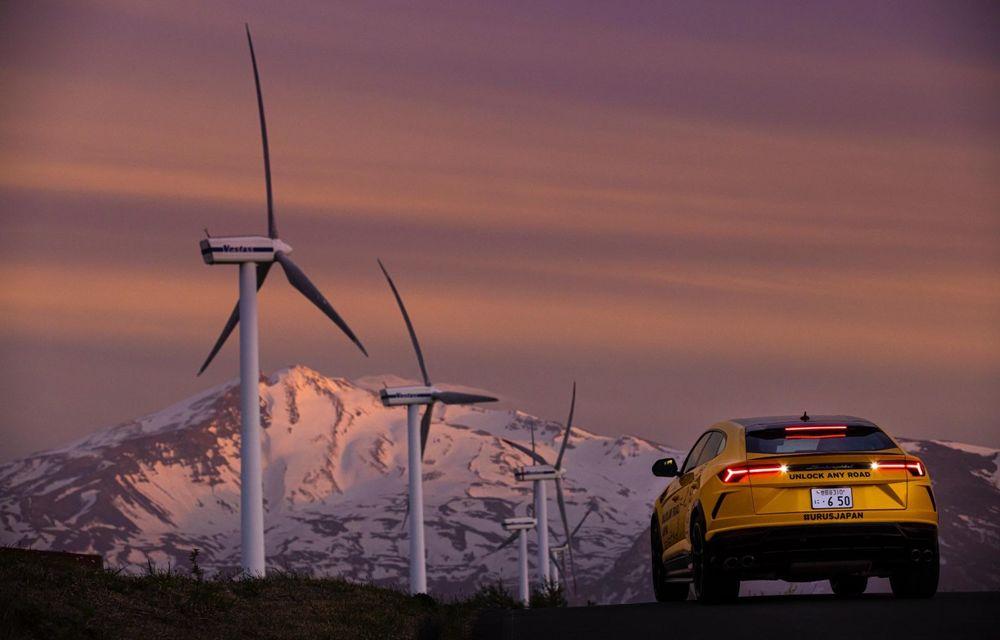 Lamborghini a traversat Japonia cu două Urus, pe un traseu de peste 6.500 de kilometri - Poza 28