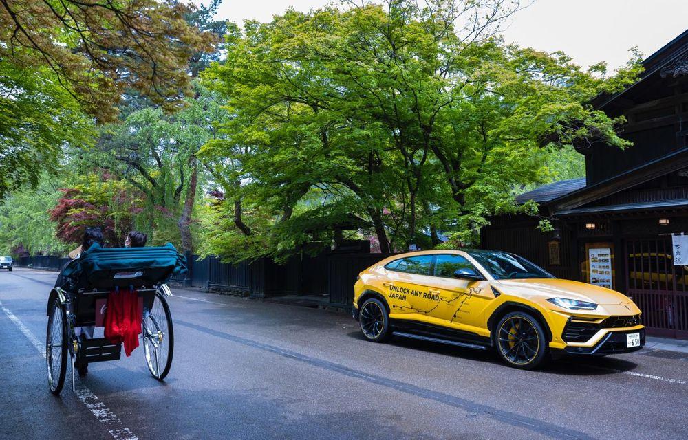Lamborghini a traversat Japonia cu două Urus, pe un traseu de peste 6.500 de kilometri - Poza 30
