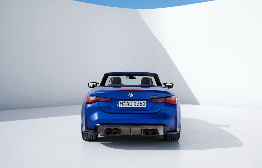 Noul BMW M4 Competition Cabriolet debutează cu tracțiune integrală și plafon soft-top - Poza 9