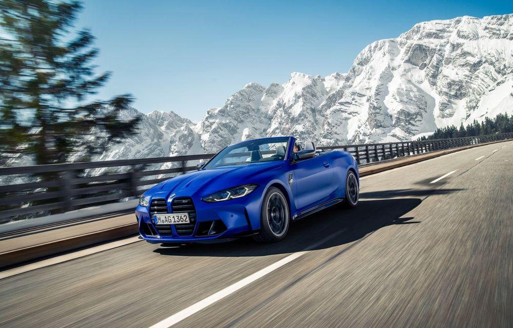 Noul BMW M4 Competition Cabriolet debutează cu tracțiune integrală și plafon soft-top - Poza 12