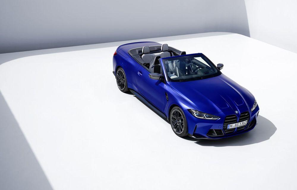 Noul BMW M4 Competition Cabriolet debutează cu tracțiune integrală și plafon soft-top - Poza 8