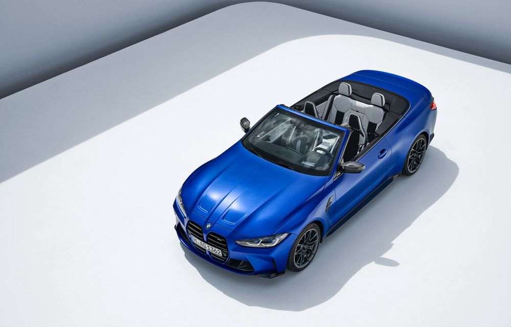 Noul BMW M4 Competition Cabriolet debutează cu tracțiune integrală și plafon soft-top - Poza 6