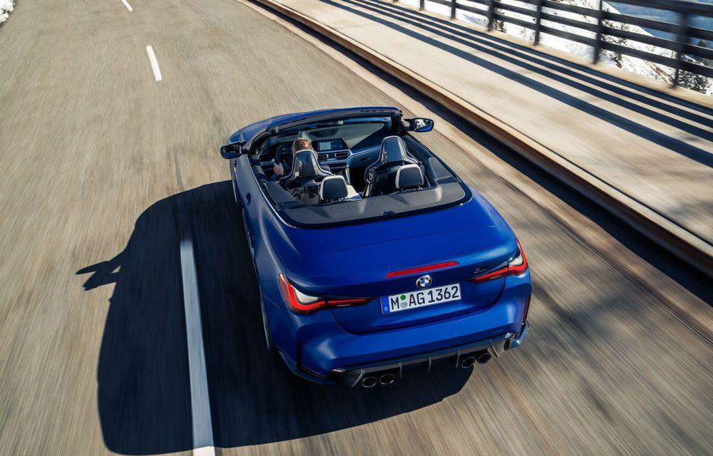 Noul BMW M4 Competition Cabriolet debutează cu tracțiune integrală și plafon soft-top - Poza 14
