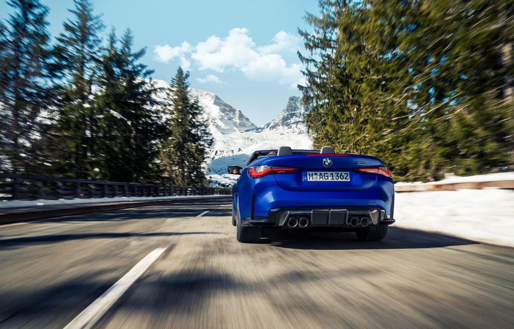 Noul BMW M4 Competition Cabriolet debutează cu tracțiune integrală și plafon soft-top - Poza 13