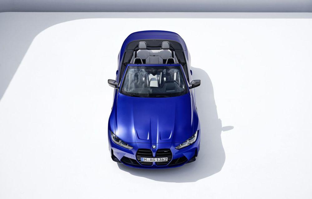 Noul BMW M4 Competition Cabriolet debutează cu tracțiune integrală și plafon soft-top - Poza 7