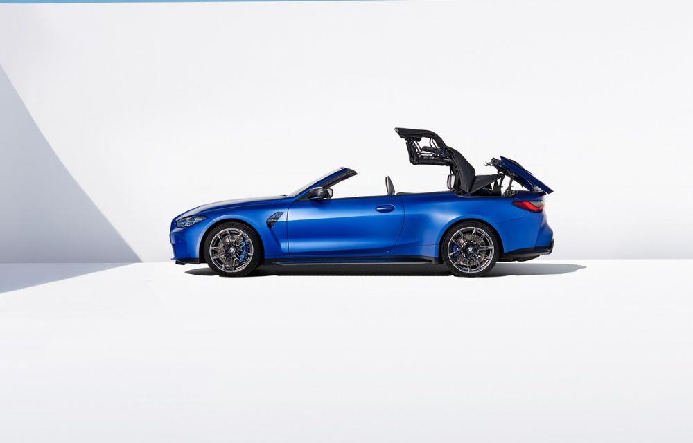 Noul BMW M4 Competition Cabriolet debutează cu tracțiune integrală și plafon soft-top - Poza 4