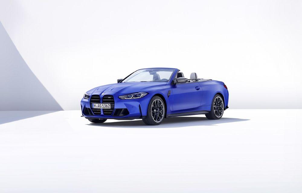 Noul BMW M4 Competition Cabriolet debutează cu tracțiune integrală și plafon soft-top - Poza 2