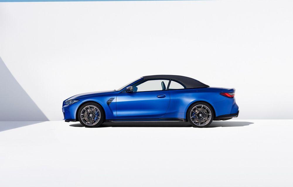 Noul BMW M4 Competition Cabriolet debutează cu tracțiune integrală și plafon soft-top - Poza 5