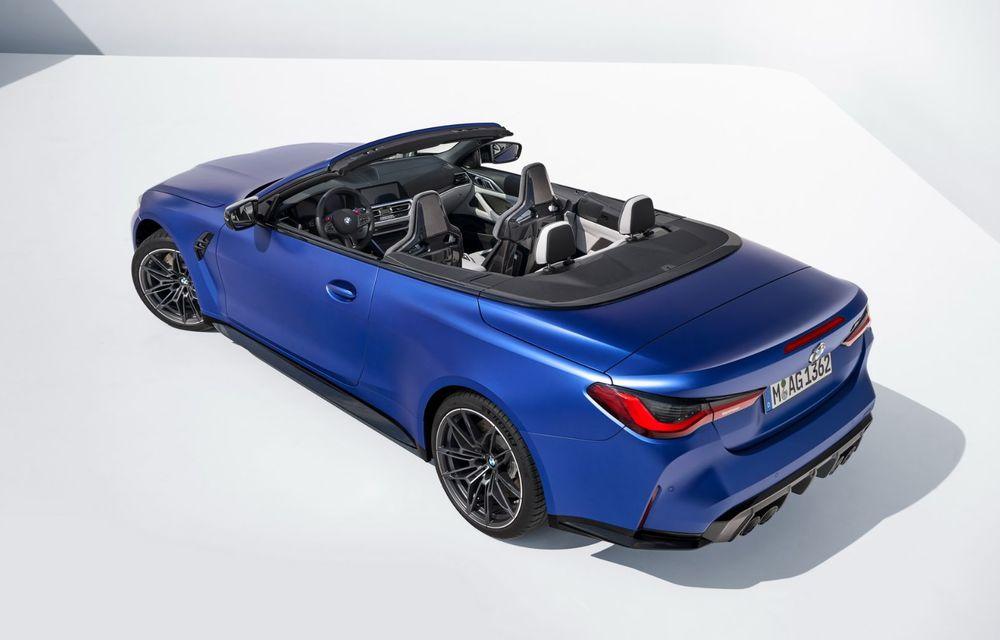 Noul BMW M4 Competition Cabriolet debutează cu tracțiune integrală și plafon soft-top - Poza 11