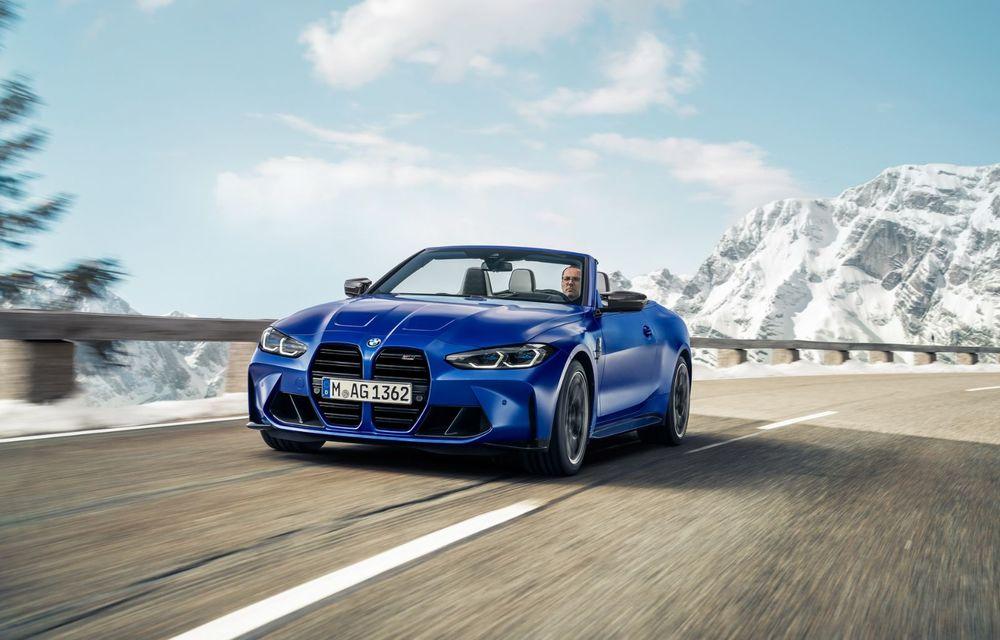 Noul BMW M4 Competition Cabriolet debutează cu tracțiune integrală și plafon soft-top - Poza 1