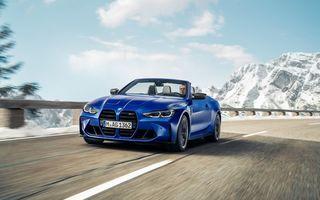 Noul BMW M4 Competition Cabriolet debutează cu tracțiune integrală și plafon soft-top