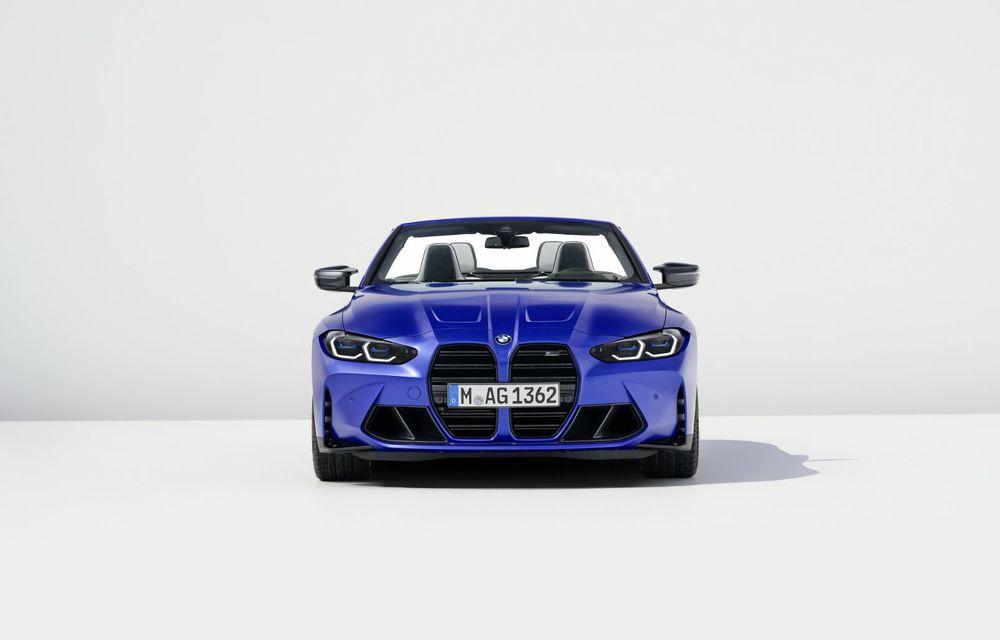 Noul BMW M4 Competition Cabriolet debutează cu tracțiune integrală și plafon soft-top - Poza 3