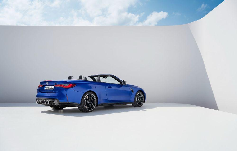 Noul BMW M4 Competition Cabriolet debutează cu tracțiune integrală și plafon soft-top - Poza 10