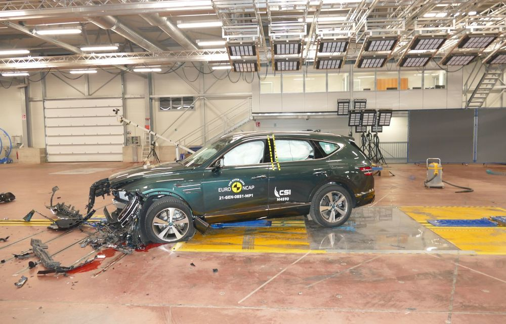 Noi rezultate Euro NCAP: 5 stele pentru Genesis G80 și QV 80, 4 stele pentru Citroen C4 - Poza 4
