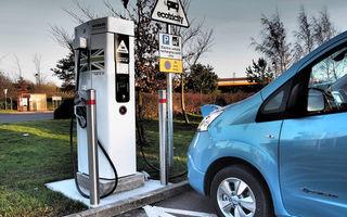 Marea Britanie vrea investiții de 350 de milioane de euro în infrastructura de încărcare a mașinilor electrice