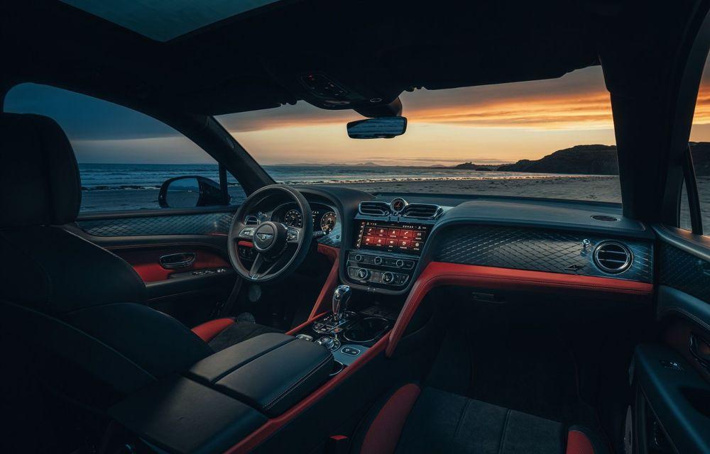 Bentley Bentayga, de-acum și în versiune S: 550 de cai putere și Alcantara din belșug la interior - Poza 12