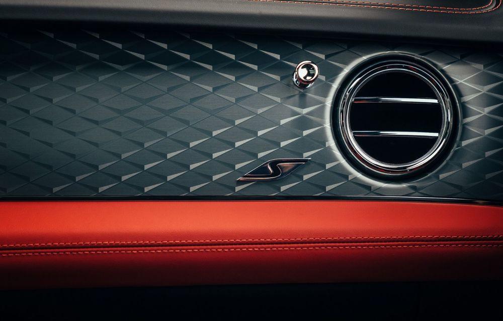 Bentley Bentayga, de-acum și în versiune S: 550 de cai putere și Alcantara din belșug la interior - Poza 17