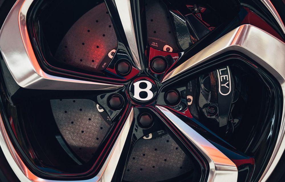 Bentley Bentayga, de-acum și în versiune S: 550 de cai putere și Alcantara din belșug la interior - Poza 23