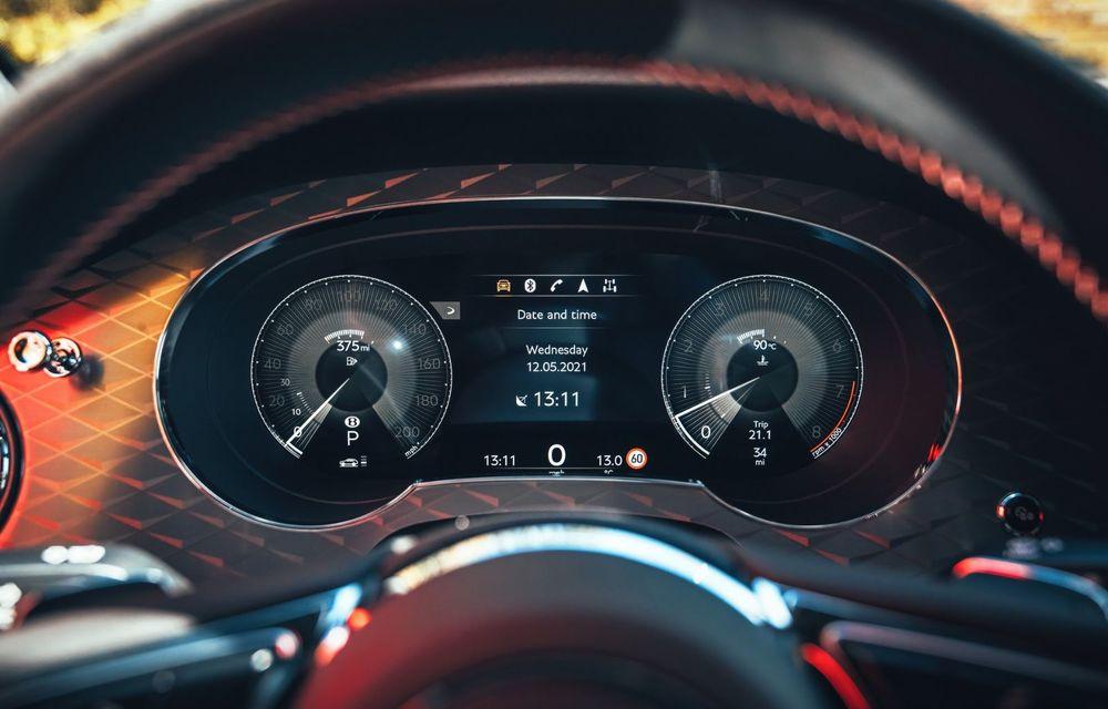 Bentley Bentayga, de-acum și în versiune S: 550 de cai putere și Alcantara din belșug la interior - Poza 13