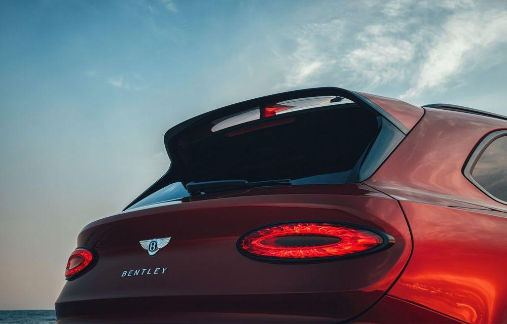 Bentley Bentayga, de-acum și în versiune S: 550 de cai putere și Alcantara din belșug la interior - Poza 20