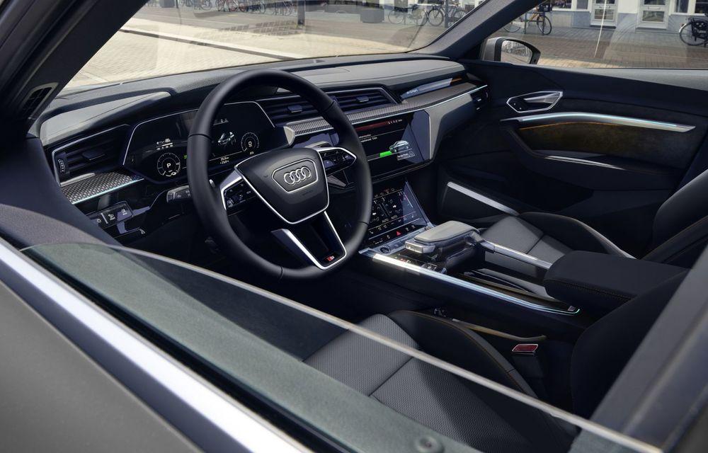 Audi lansează o nouă versiune specială S Line Black Edition pentru SUV-ul electric e-tron - Poza 5