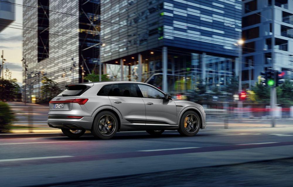 Audi lansează o nouă versiune specială S Line Black Edition pentru SUV-ul electric e-tron - Poza 3