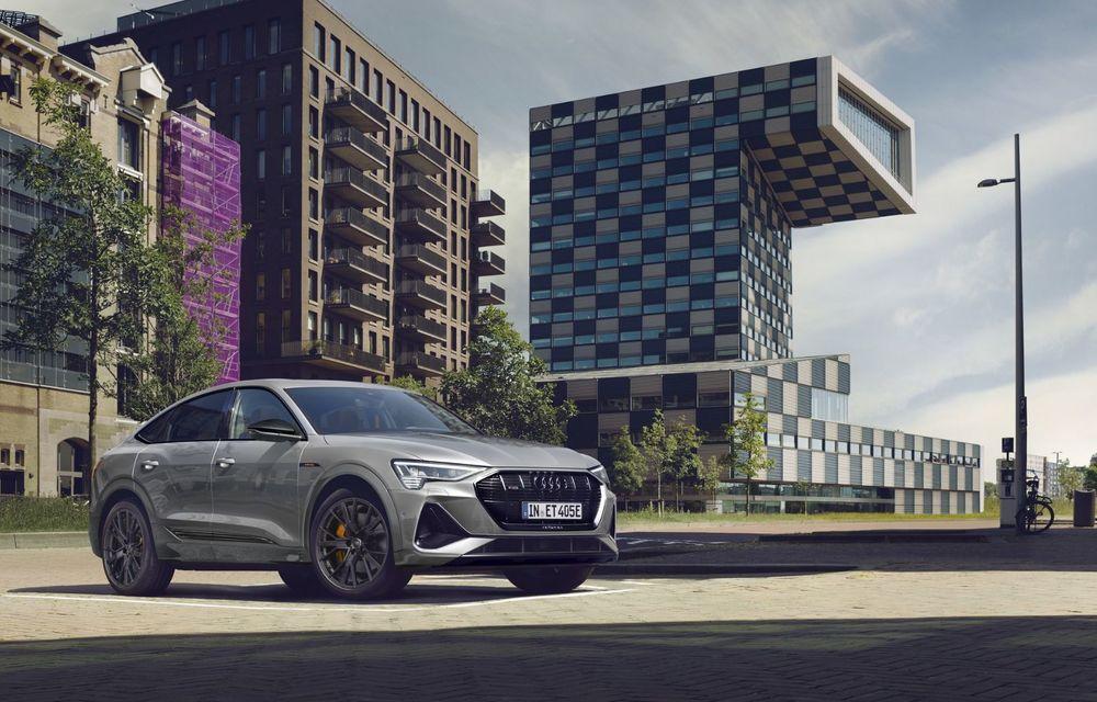 Audi lansează o nouă versiune specială S Line Black Edition pentru SUV-ul electric e-tron - Poza 1
