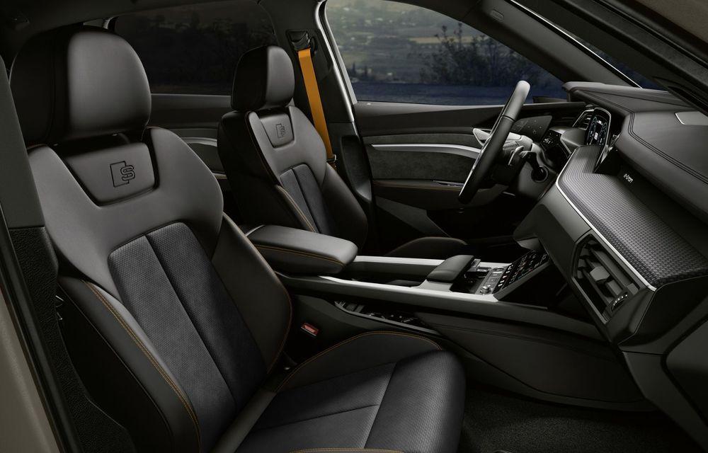 Audi lansează o nouă versiune specială S Line Black Edition pentru SUV-ul electric e-tron - Poza 6