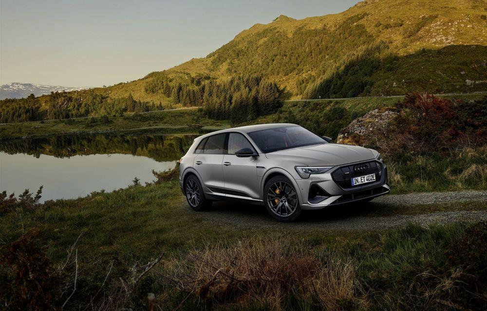 Audi lansează o nouă versiune specială S Line Black Edition pentru SUV-ul electric e-tron - Poza 2