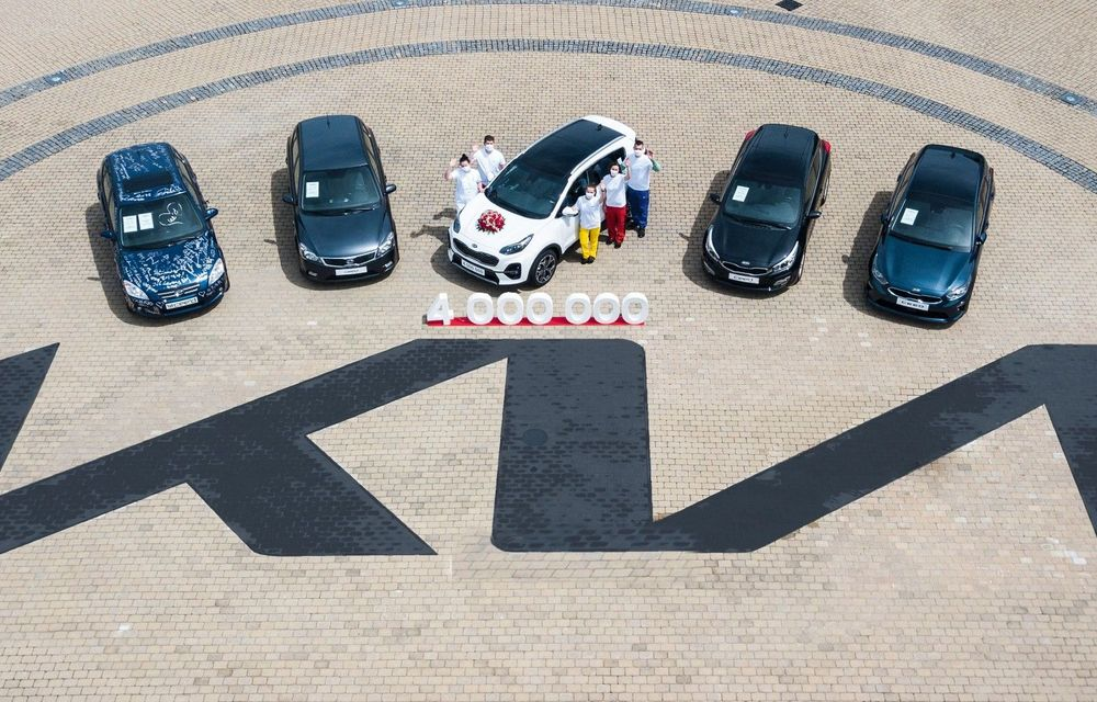 Kia a atins borna 4.000.000 de mașini produse la uzina din Slovacia - Poza 1