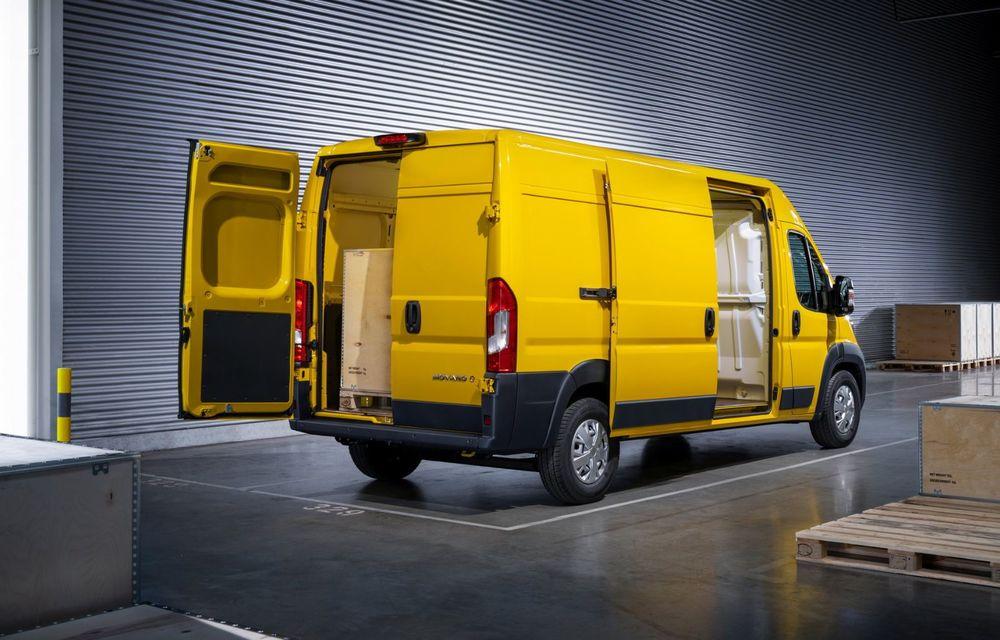Opel lansează noua generație Movano. Disponibil, în premieră, și cu versiune 100% electrică - Poza 10
