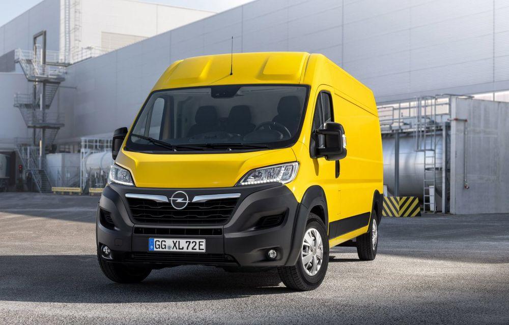 Opel lansează noua generație Movano. Disponibil, în premieră, și cu versiune 100% electrică - Poza 8