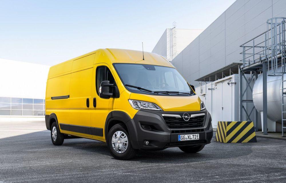 Opel lansează noua generație Movano. Disponibil, în premieră, și cu versiune 100% electrică - Poza 7