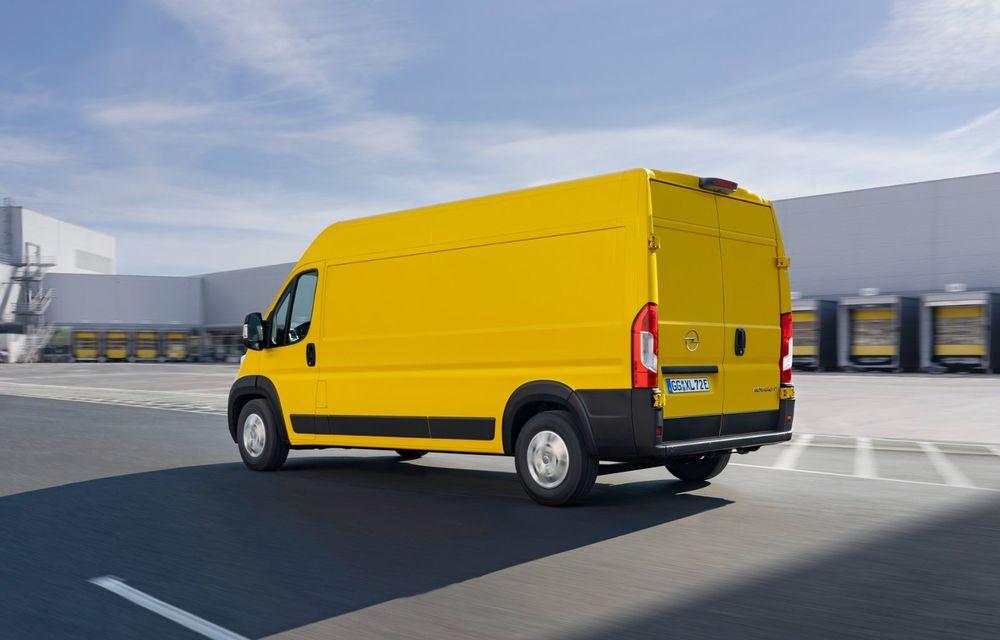 Opel lansează noua generație Movano. Disponibil, în premieră, și cu versiune 100% electrică - Poza 5