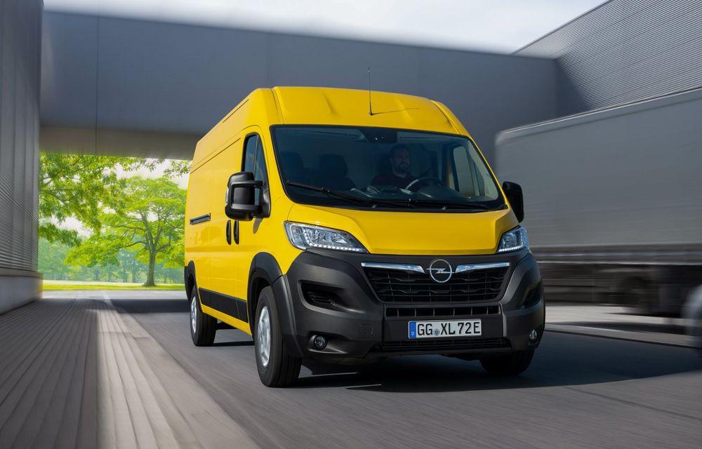 Opel lansează noua generație Movano. Disponibil, în premieră, și cu versiune 100% electrică - Poza 3