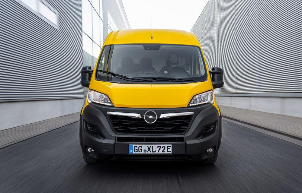 Opel lansează noua generație Movano. Disponibil, în premieră, și cu versiune 100% electrică - Poza 2