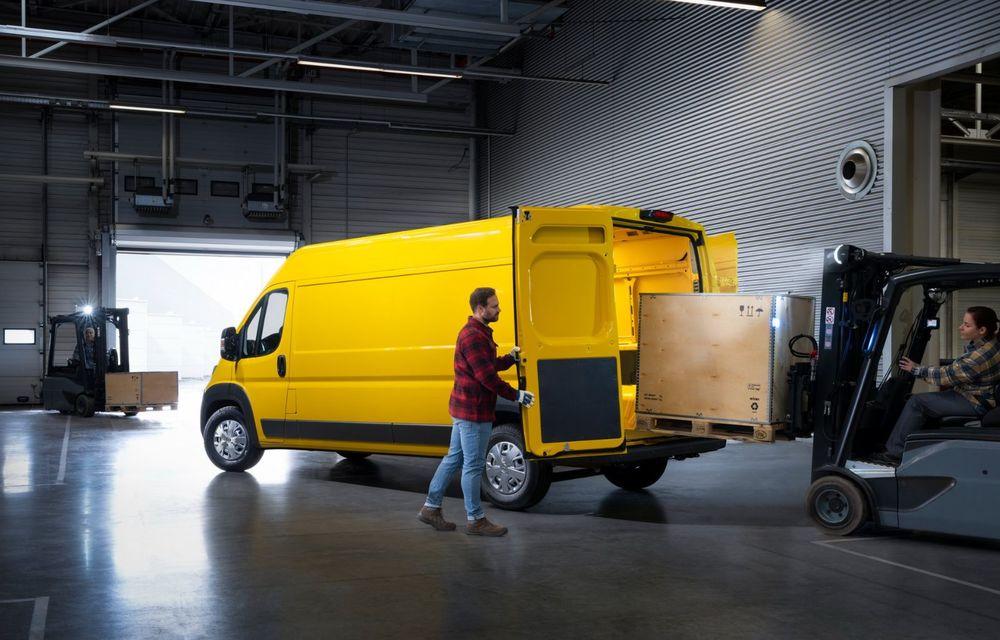 Opel lansează noua generație Movano. Disponibil, în premieră, și cu versiune 100% electrică - Poza 11