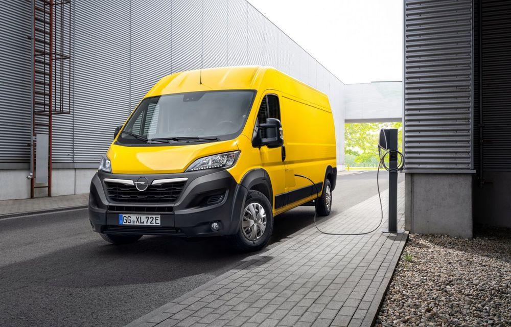 Opel lansează noua generație Movano. Disponibil, în premieră, și cu versiune 100% electrică - Poza 1