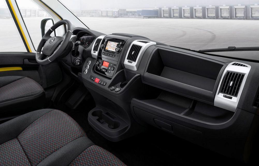 Opel lansează noua generație Movano. Disponibil, în premieră, și cu versiune 100% electrică - Poza 12