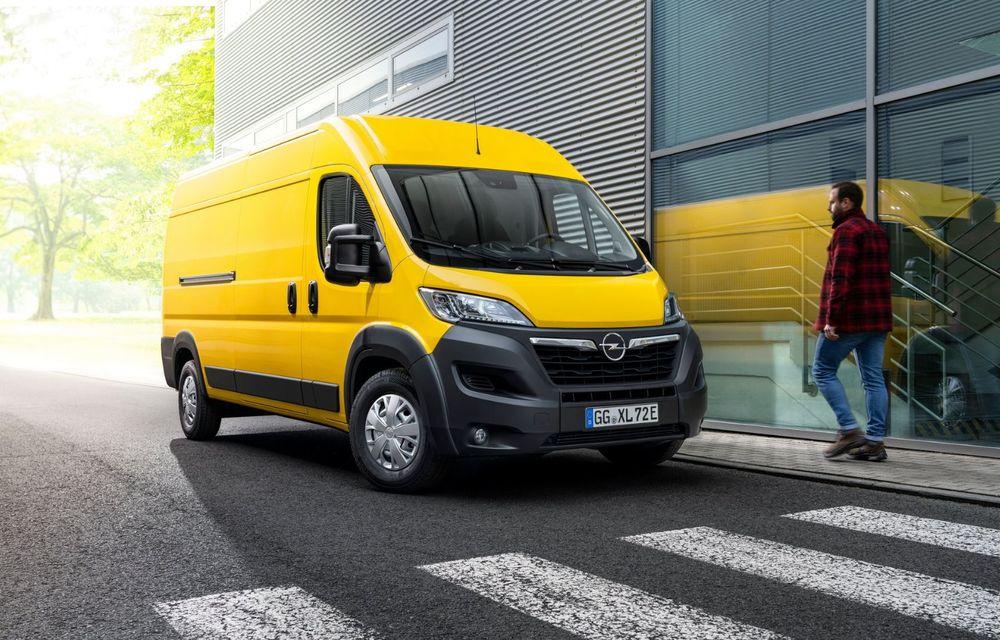 Opel lansează noua generație Movano. Disponibil, în premieră, și cu versiune 100% electrică - Poza 9