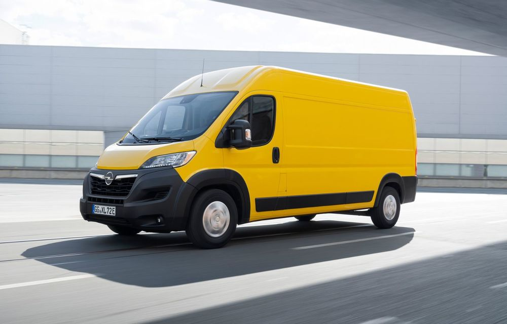 Opel lansează noua generație Movano. Disponibil, în premieră, și cu versiune 100% electrică - Poza 4