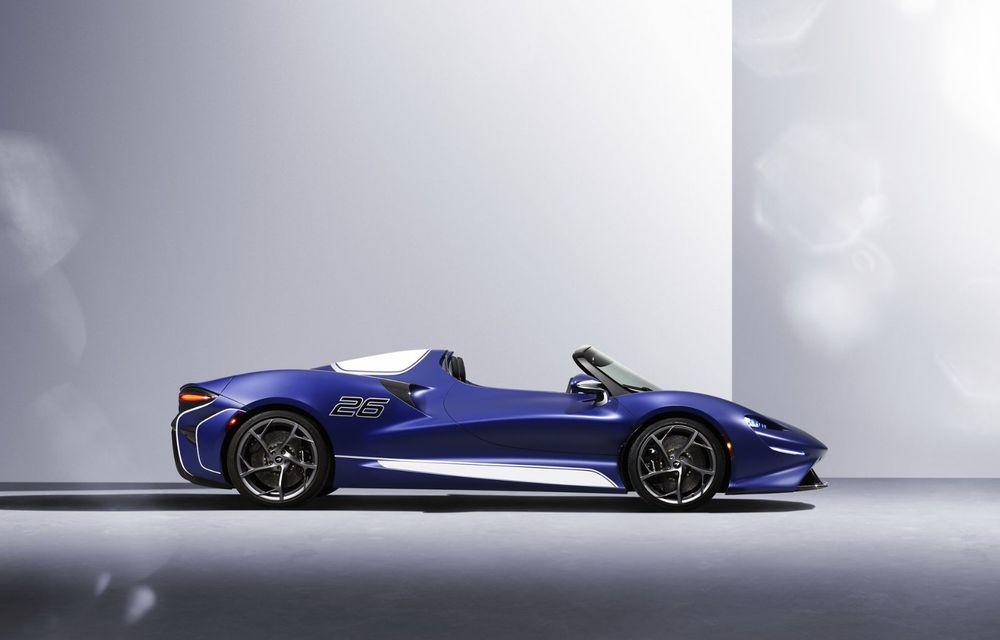 McLaren lansează o versiune cu parbriz pentru hypercar-ul Elva. Performanțele rămân neschimbate - Poza 3