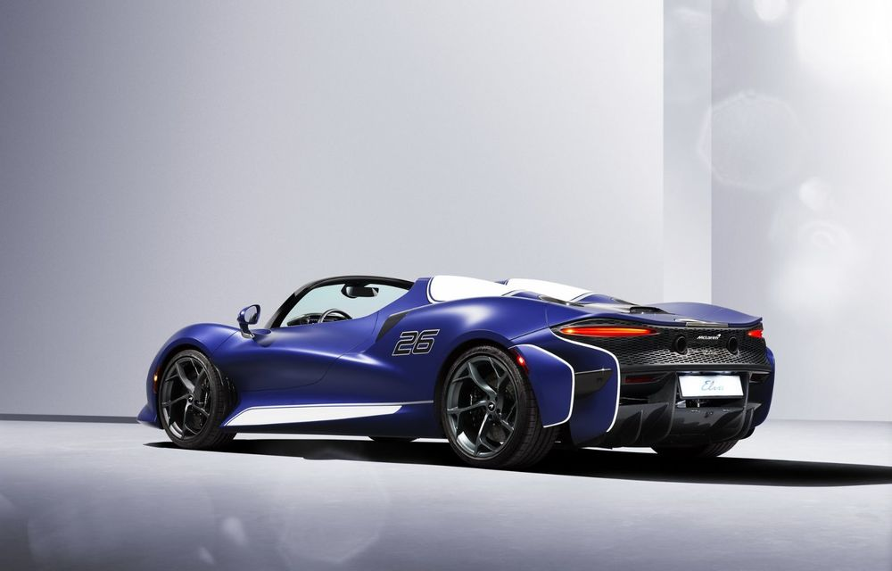 McLaren lansează o versiune cu parbriz pentru hypercar-ul Elva. Performanțele rămân neschimbate - Poza 2