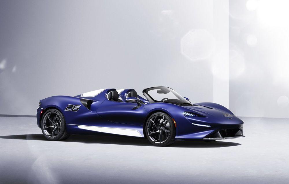 McLaren lansează o versiune cu parbriz pentru hypercar-ul Elva. Performanțele rămân neschimbate - Poza 1