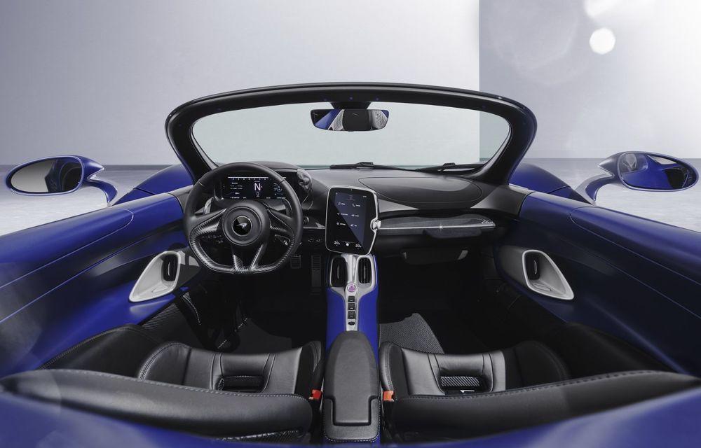 McLaren lansează o versiune cu parbriz pentru hypercar-ul Elva. Performanțele rămân neschimbate - Poza 5