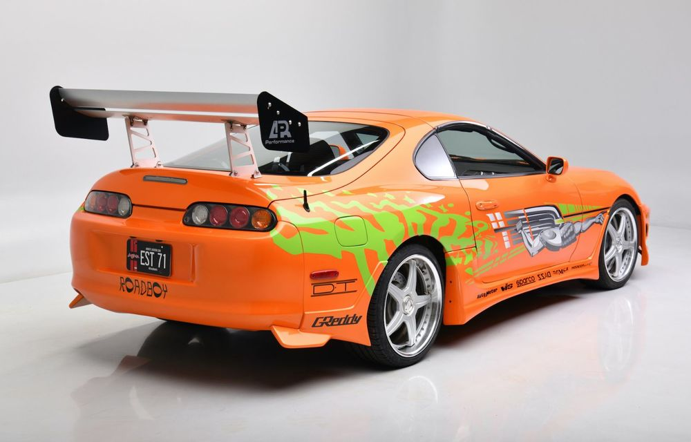 Se vinde mașina care l-a făcut celebru pe Paul Walker în Fast & Furious: Toyota Supra - Poza 5