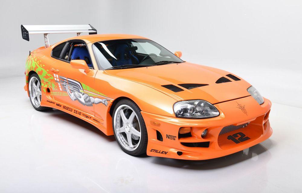 Se vinde mașina care l-a făcut celebru pe Paul Walker în Fast & Furious: Toyota Supra - Poza 2