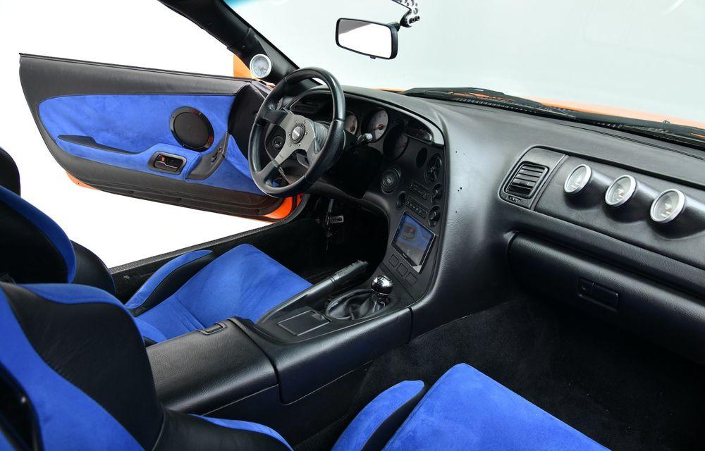 Se vinde mașina care l-a făcut celebru pe Paul Walker în Fast & Furious: Toyota Supra - Poza 8