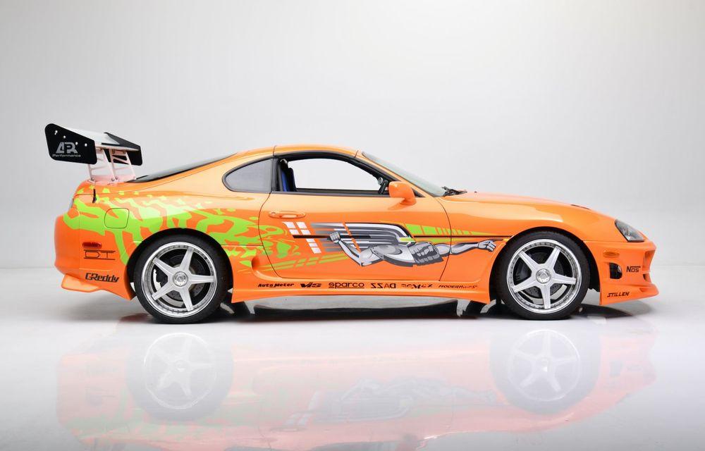 Se vinde mașina care l-a făcut celebru pe Paul Walker în Fast & Furious: Toyota Supra - Poza 3